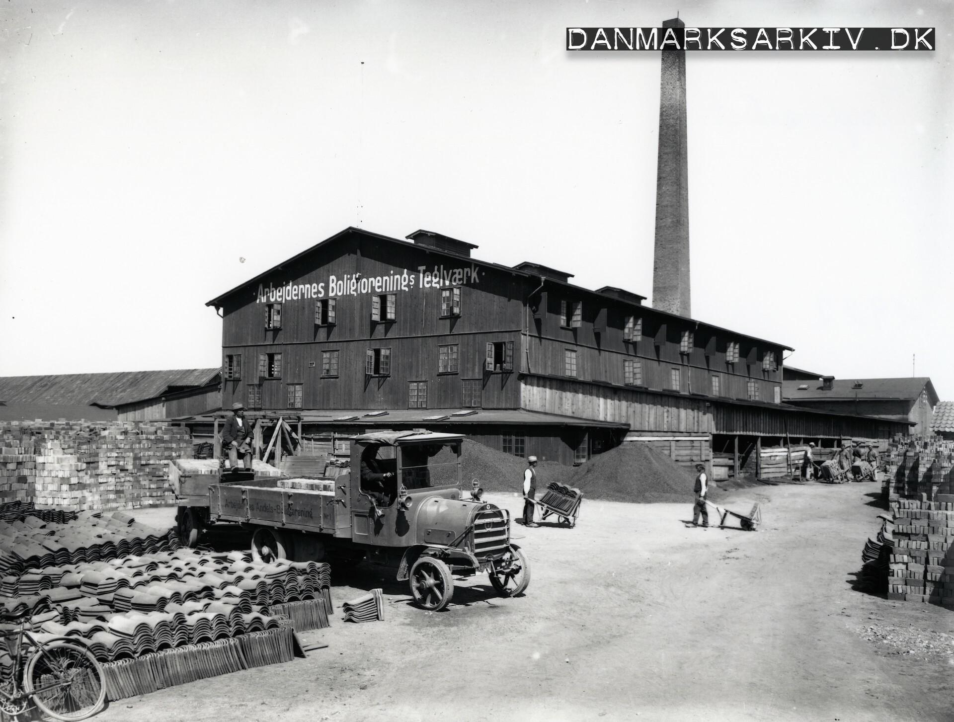 Arbejdernes Andels-Boligforenings teglværk i Tåstrup - 1922