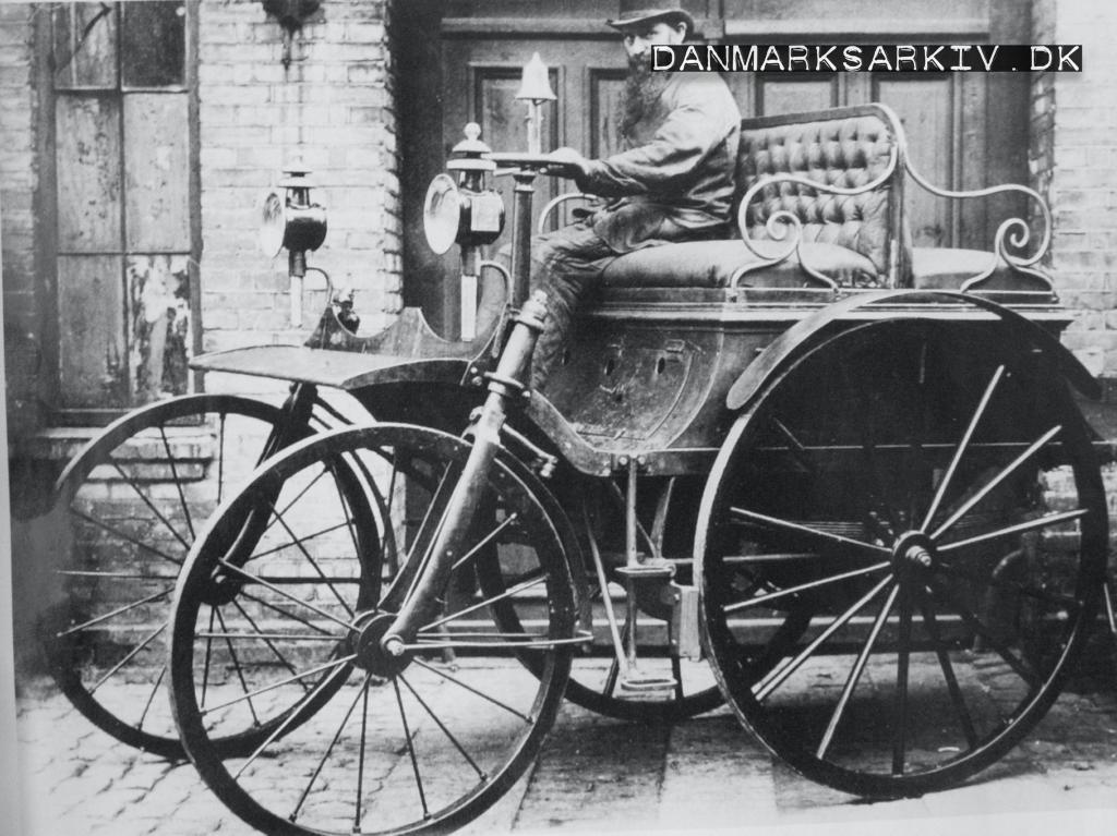Hammelvognen - Verdens ældste fungerende automobil - 1888
