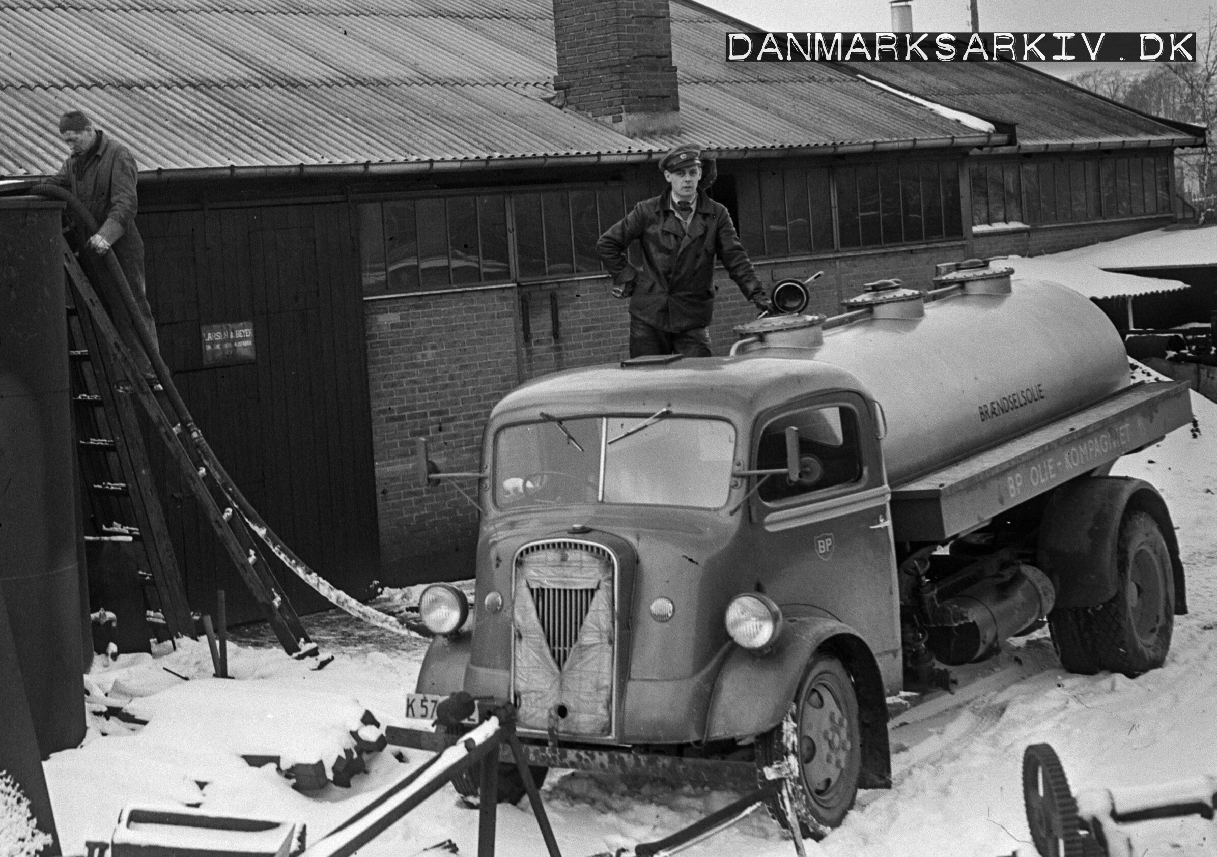 Tankbil fra BP - British Petroleum Company