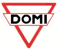 DOMI - Dansk Oversøisk Motor Industri - Logo