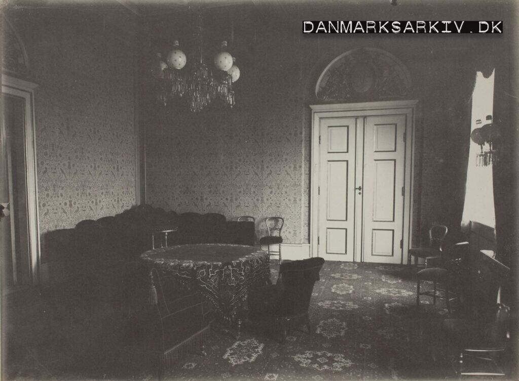 Den kongelige ventesal på Københavns anden hovedbanegaard - 1911