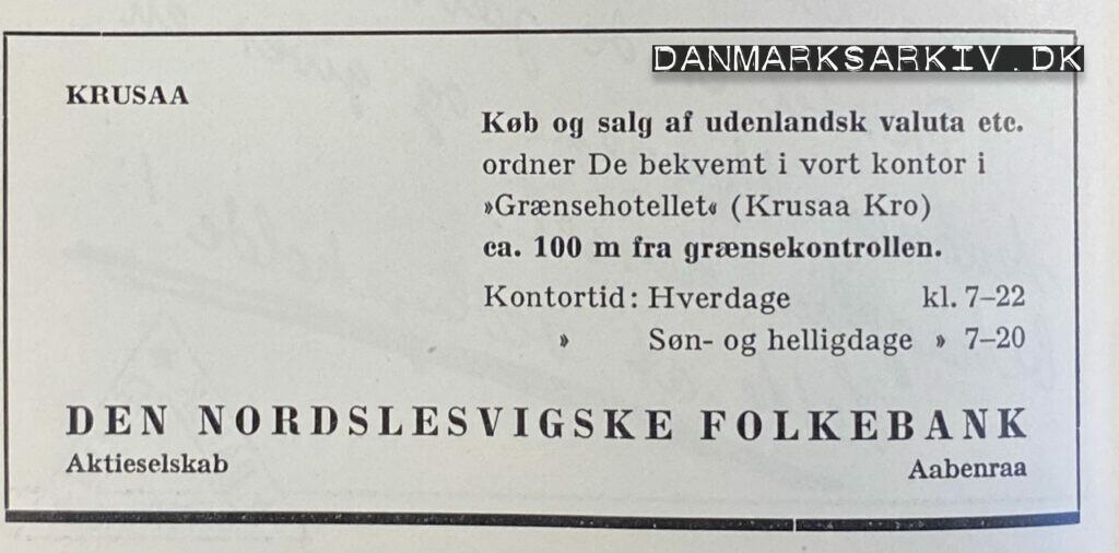 Den Nordslesvigske Folkebank - 1960'erne