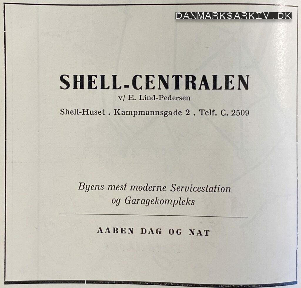 Shell-Centralen - Shell-Huset - 1960'erne