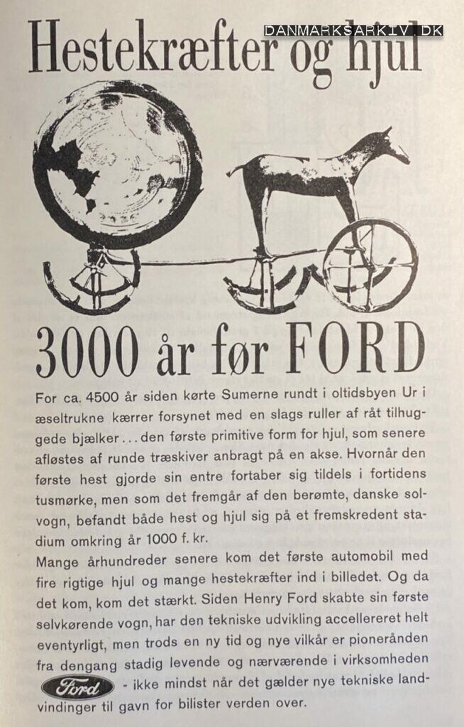 Ford - Hestekræfter og hjul 3000 år før Ford - 1960'erne