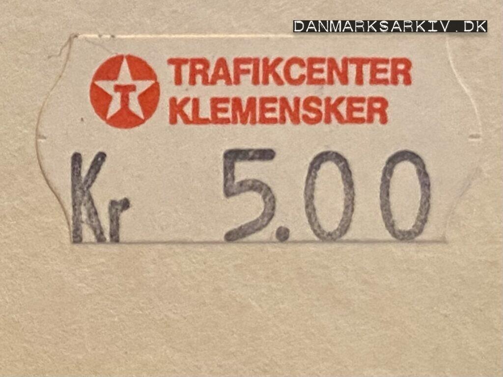 Texaco Trafikcenter Klemensker - 1994