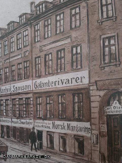 Reklamer i Badstuestræde 9-11