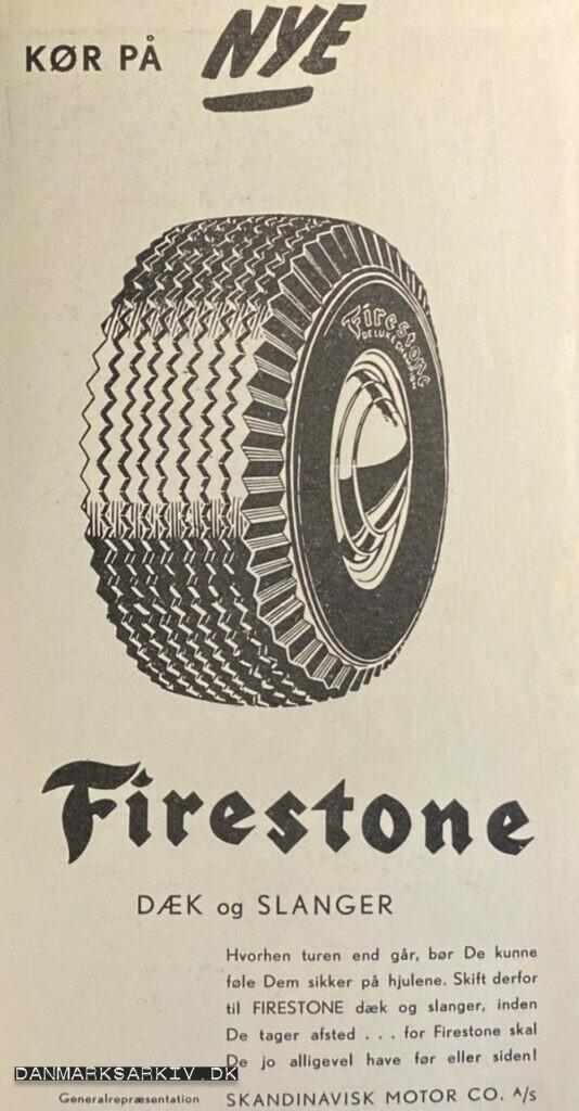 Kør på nye Firestone dæk og slanger - 1960'erne