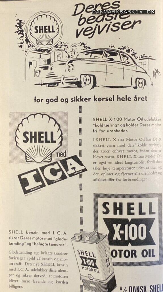 Shell - Deres bedste vejviser for god og sikker kørsel hele året - 1960'erne