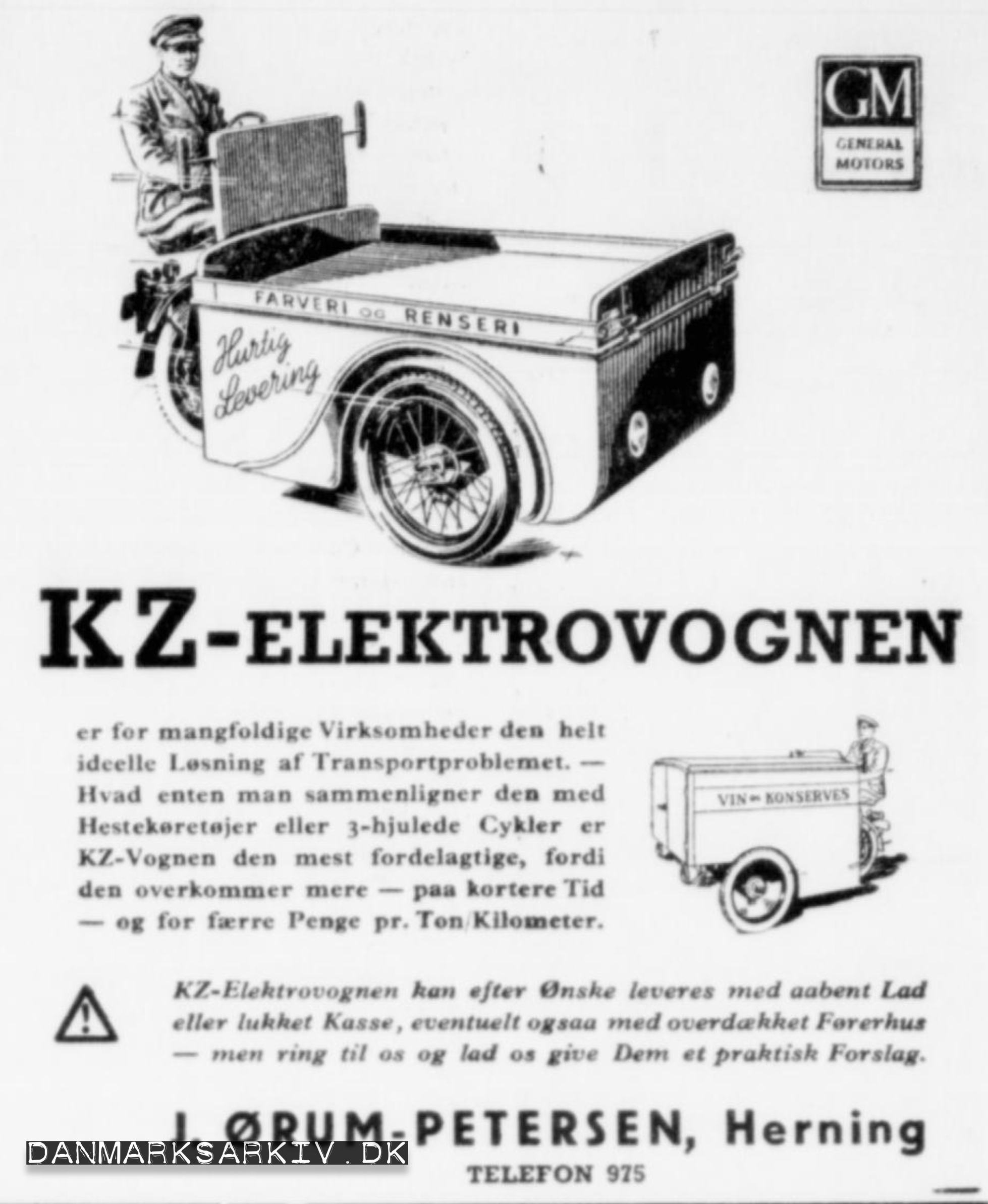KZ-Elektrovognen - 1942