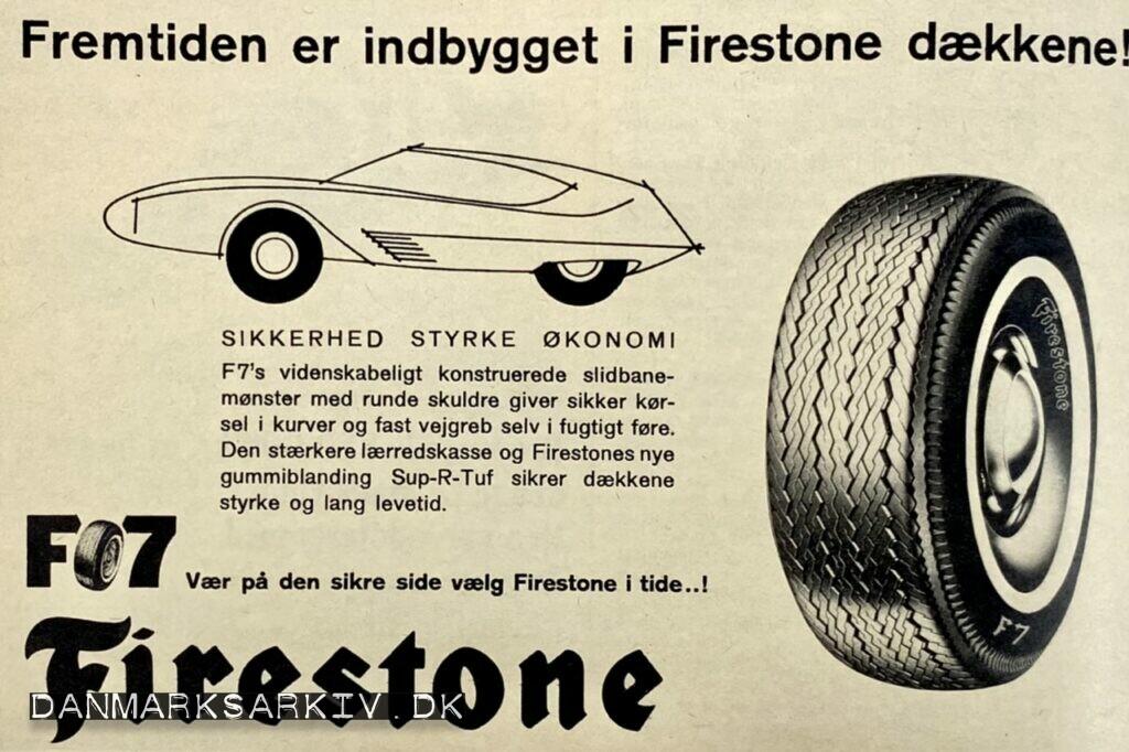Fremtiden er indbygget i Firestone dækkene!