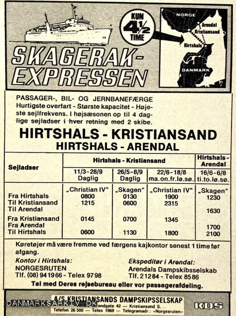 Skagerak Expressen - Kristiansands Dampskibsselskab
