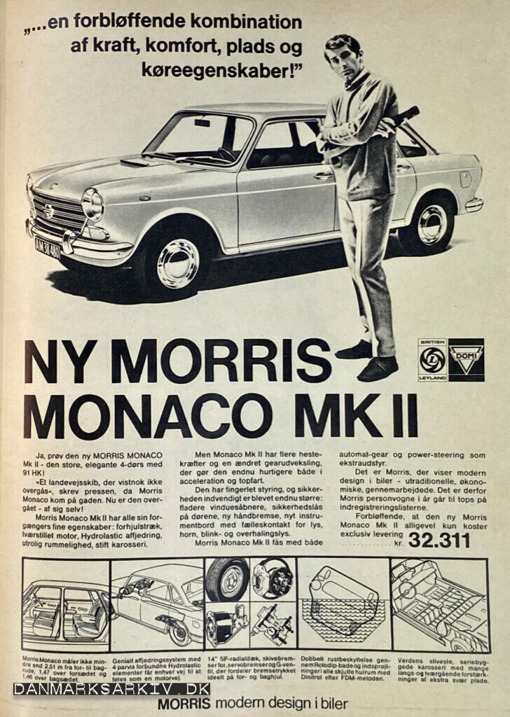Ny Morris Monaco MKII - ...en forbløffende kombination af kraft, komfort, plads og køreegenskaber!