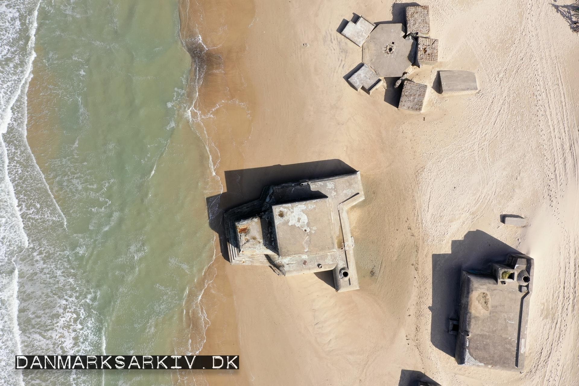 Tyske bunkere på Løkken strand