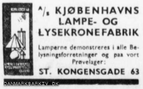 Kjøbenhavns Lampe- og Lysekronefabrik