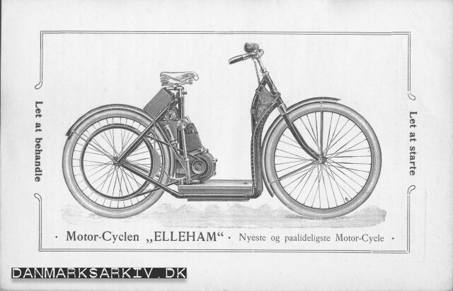 Motor-Cyclen Elleham - Nyeste og paalideligste Motor-Cycle