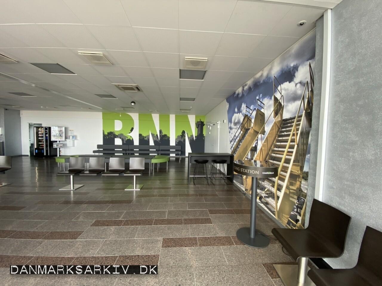Bornholms Lufthavn - Afgangshallen 2021