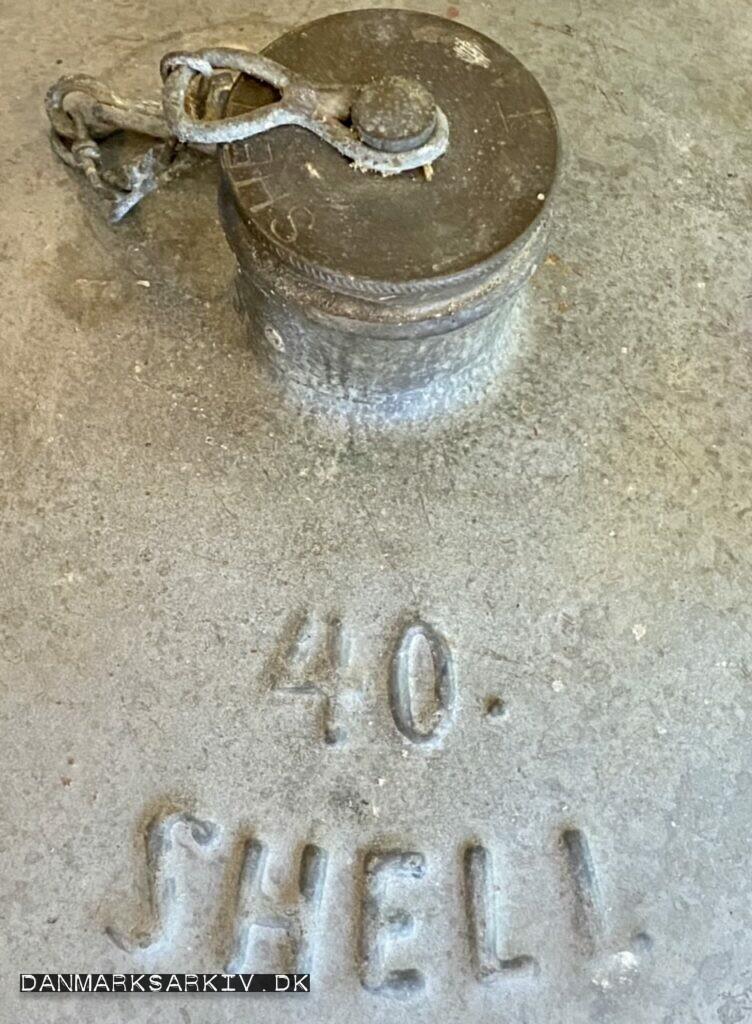 40 liter Shell Petroleumsdunk