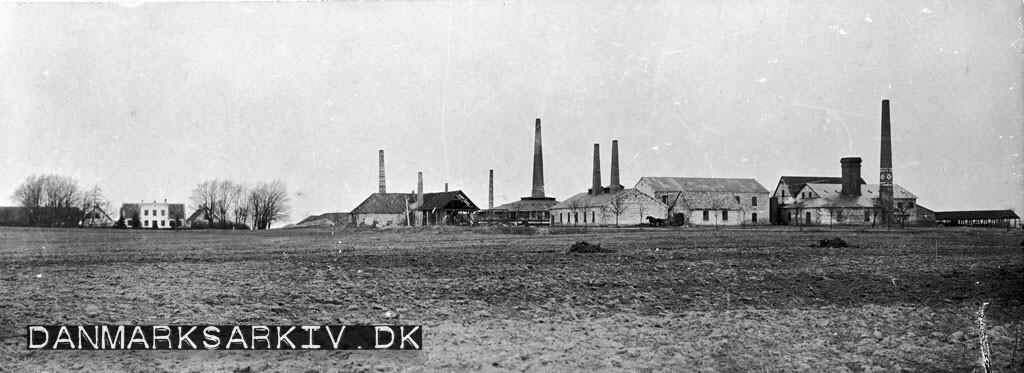 Hakkemose Teglværk ca år 1900