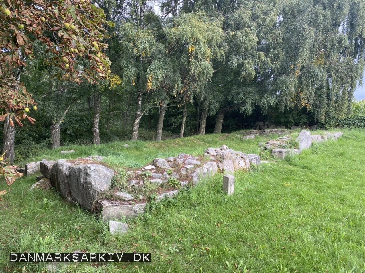Kapel ruinen ved Sankt Jørgensgården Spidlegård - Aakirkeby, Bornholm