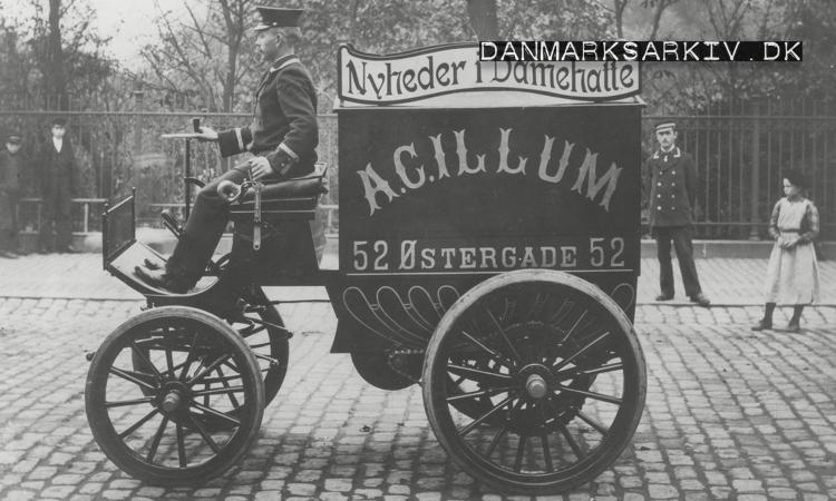 A. C. Illums elektriske varebil - 1901