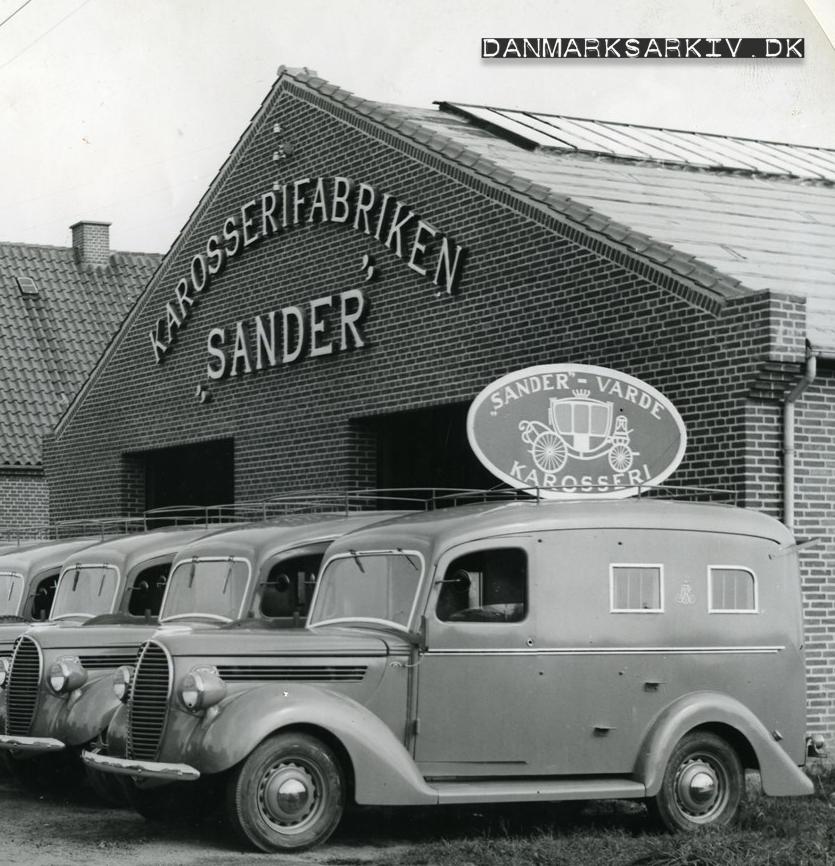Karosserifabriken Sander - 1930'erne