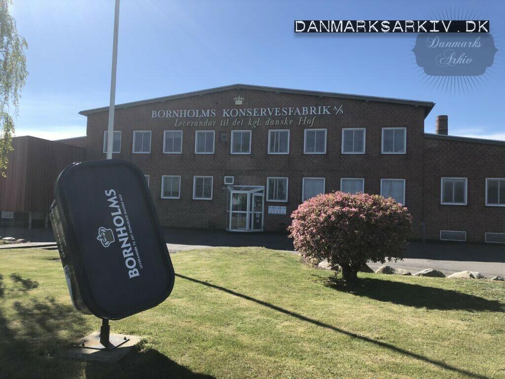 Bornholms Konservesfabrik A/S - Leverandør til det kgl. danske hof - 2019