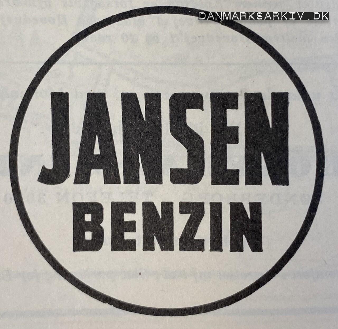 Jansen Benzin - 1960'erne