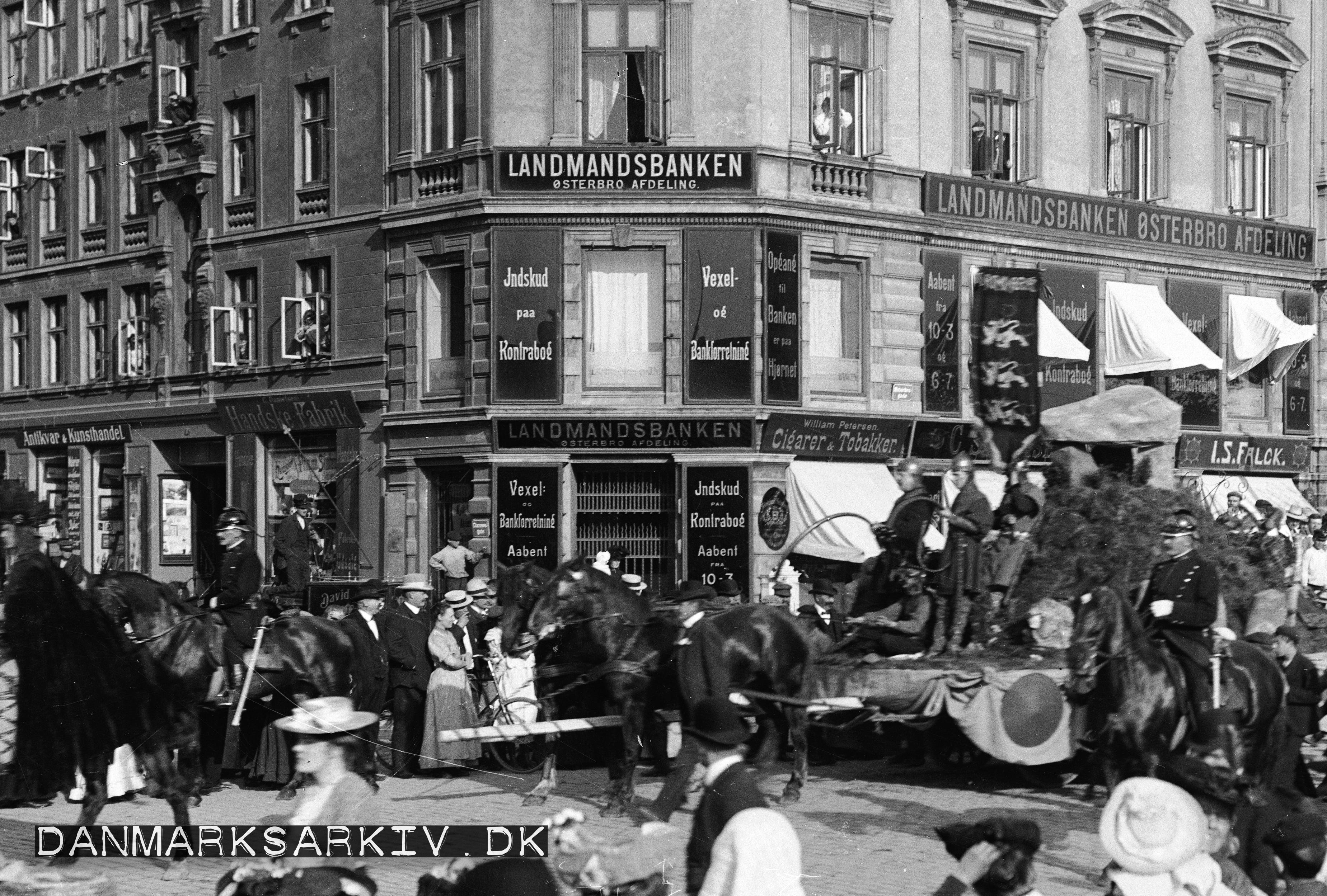Landmandsbanken Østerbro - ca. 1900