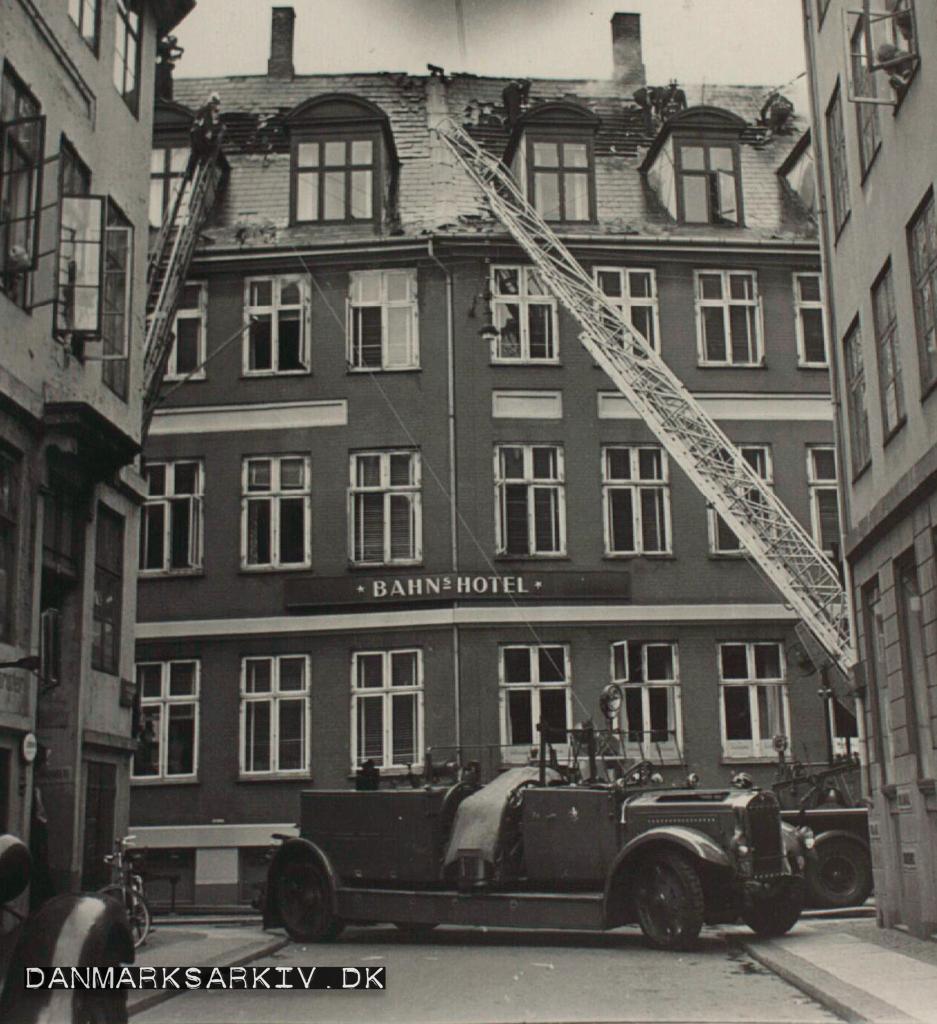 Brand i Bahns Hotel