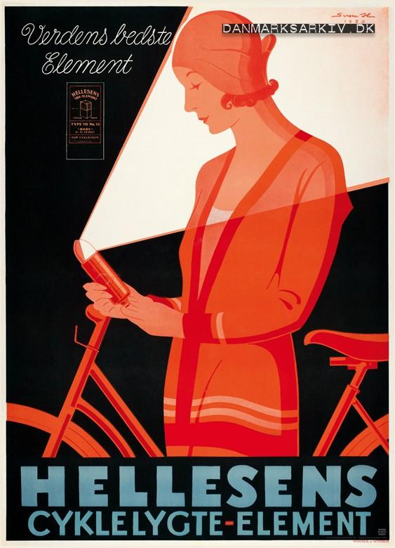 Hellesens Cykellygte Elementer