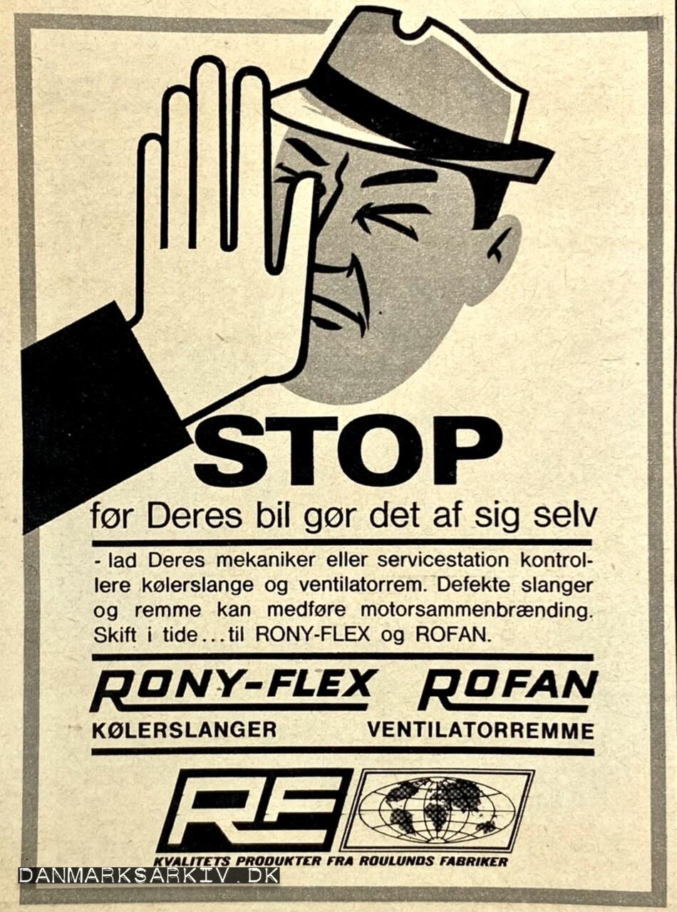 STOP før Deres bil gør det af sig selv - Kvalitets produkter fra Roulunds Fabriker