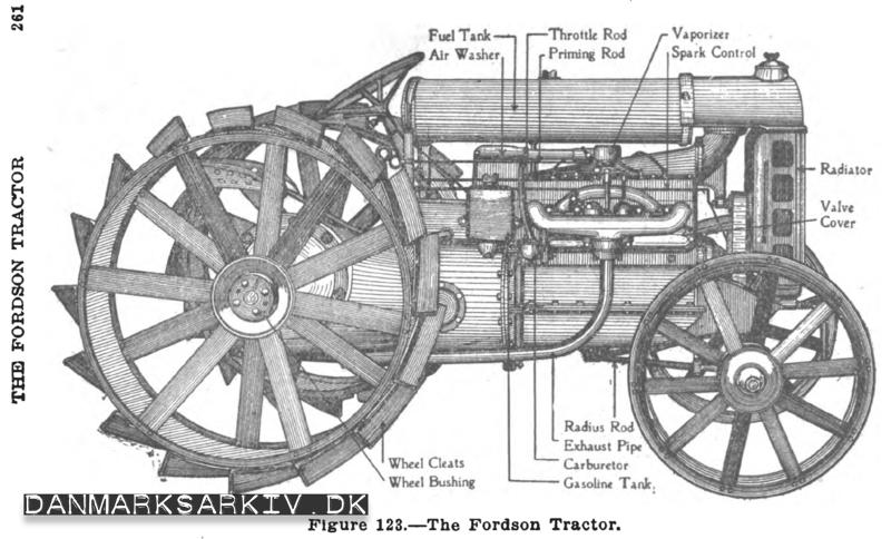 Fordson vedligehold - 1919