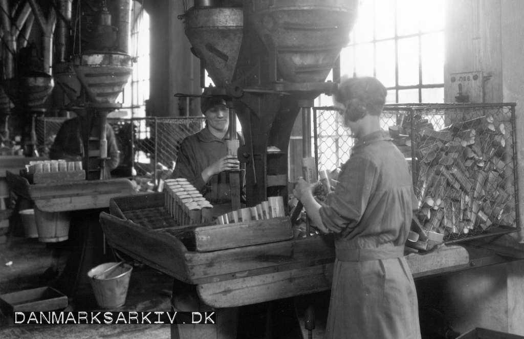 Rich's pakkes på De Danske Cichoriefabrikker - 1927