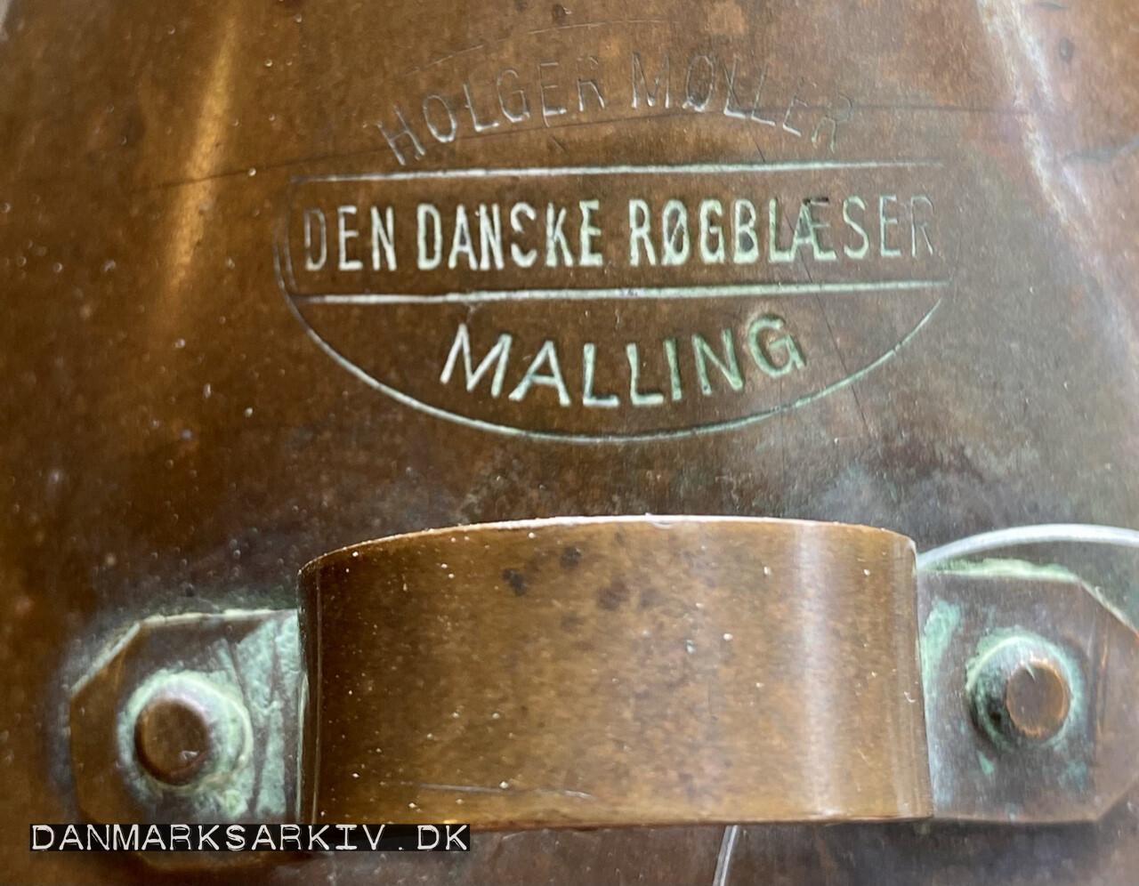 Den Danske Røgblæser - Holger Møller - Malling