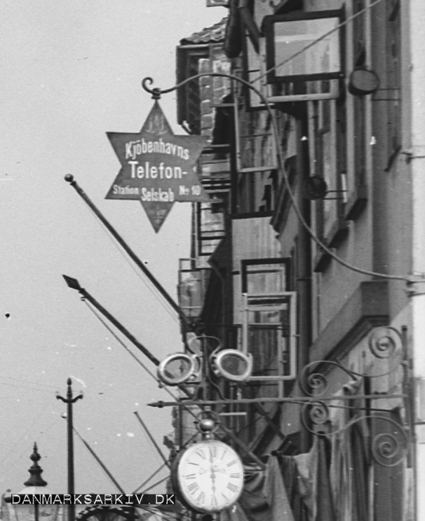 Kjöbenhavns Telefonselskab - Station no. 10 - 1910
